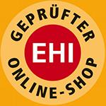 Dieser Shop wurde durch EHI ertifiziert