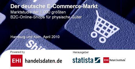 """5e54a4b27ff06f Mit der neuen Marktanalyse """"Der deutsche E-Commerce-Markt"""" von EHI und  Statista wird die Struktur des Online-Marktes erfasst und analysiert."""